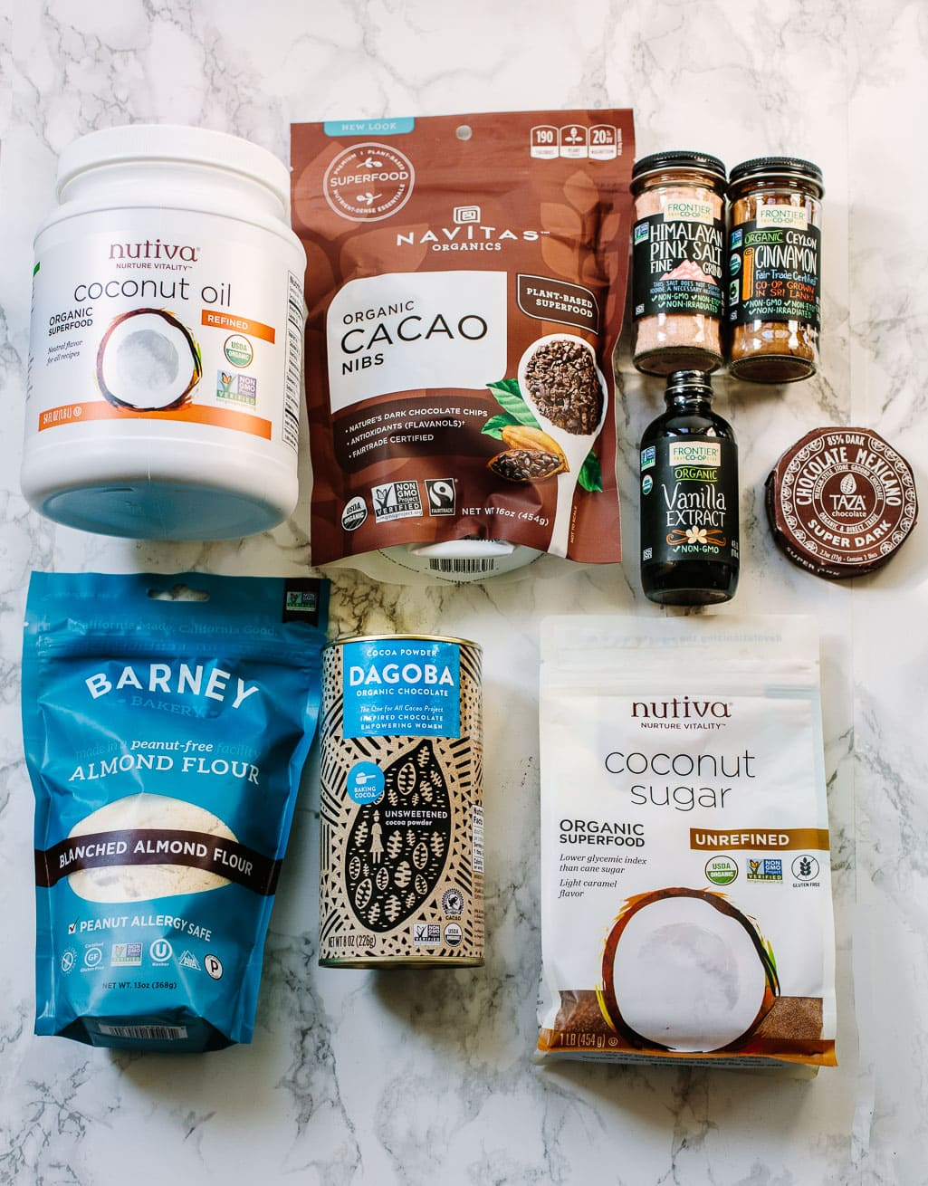 Ingredients for Mexican Chocolate Pudding Cake