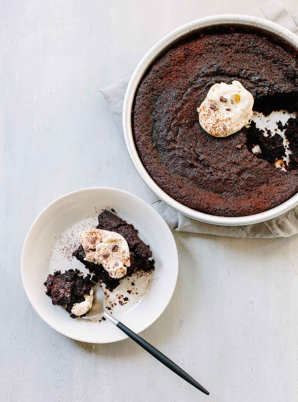 Mexican Chocolate Pudding Cake
