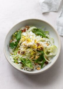 Fresh Fennel Salad with Walnuts and Celery