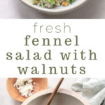 Shaved Fennel Salad with Celery and Walnuts