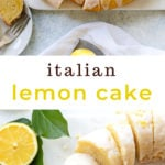 Super-Moist Double Lemon Cake with Limoncello Glaze