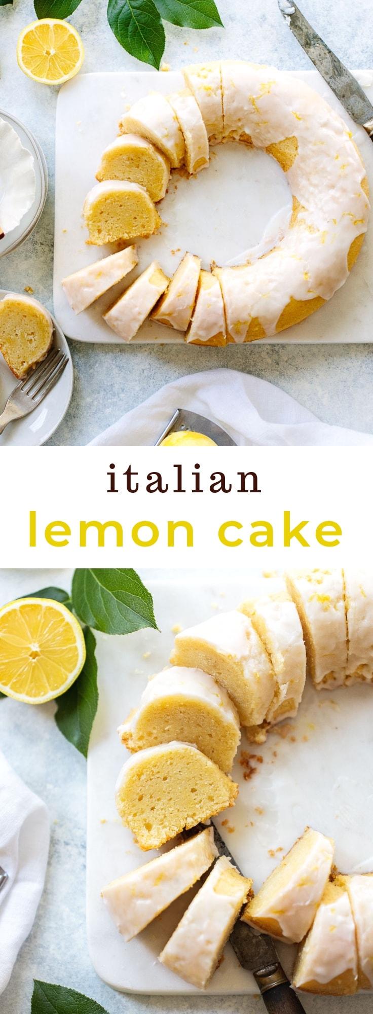Super-Moist Double Lemon Cake with Limoncello Glaze
