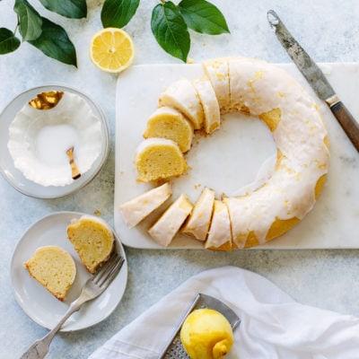 Double Lemon Sorrento Cake