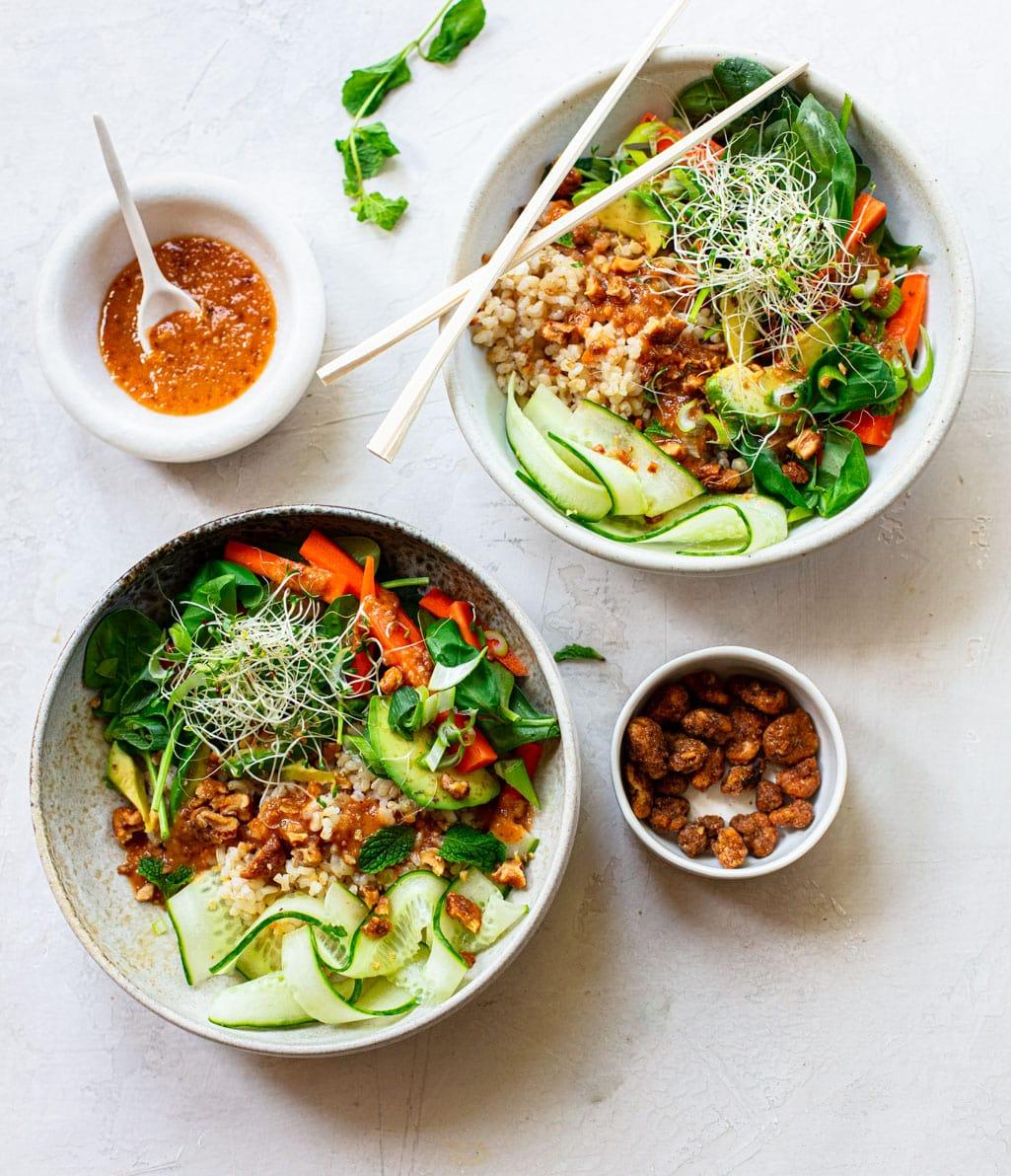 Banh Mi Rice Bowls