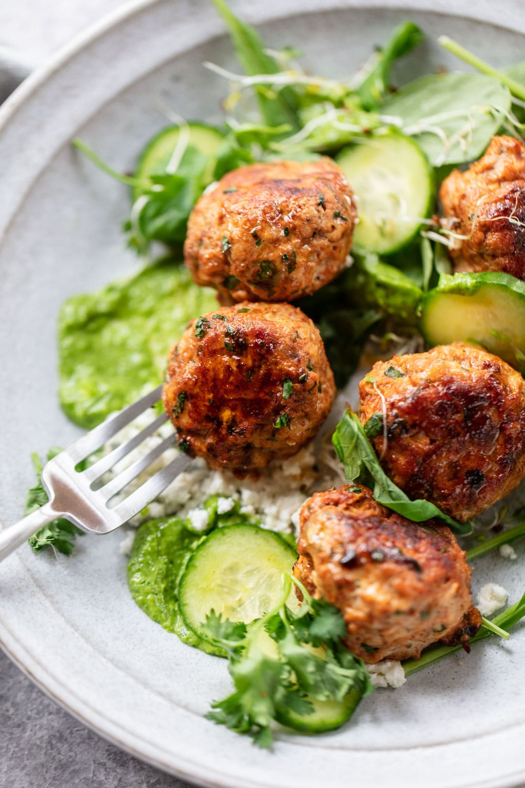 Healthy Turkey Meatballs (Gluten-Free)