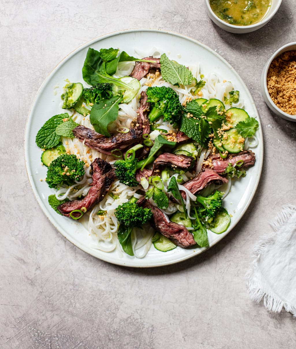 Healthy Steak Salad with Thai Flavors