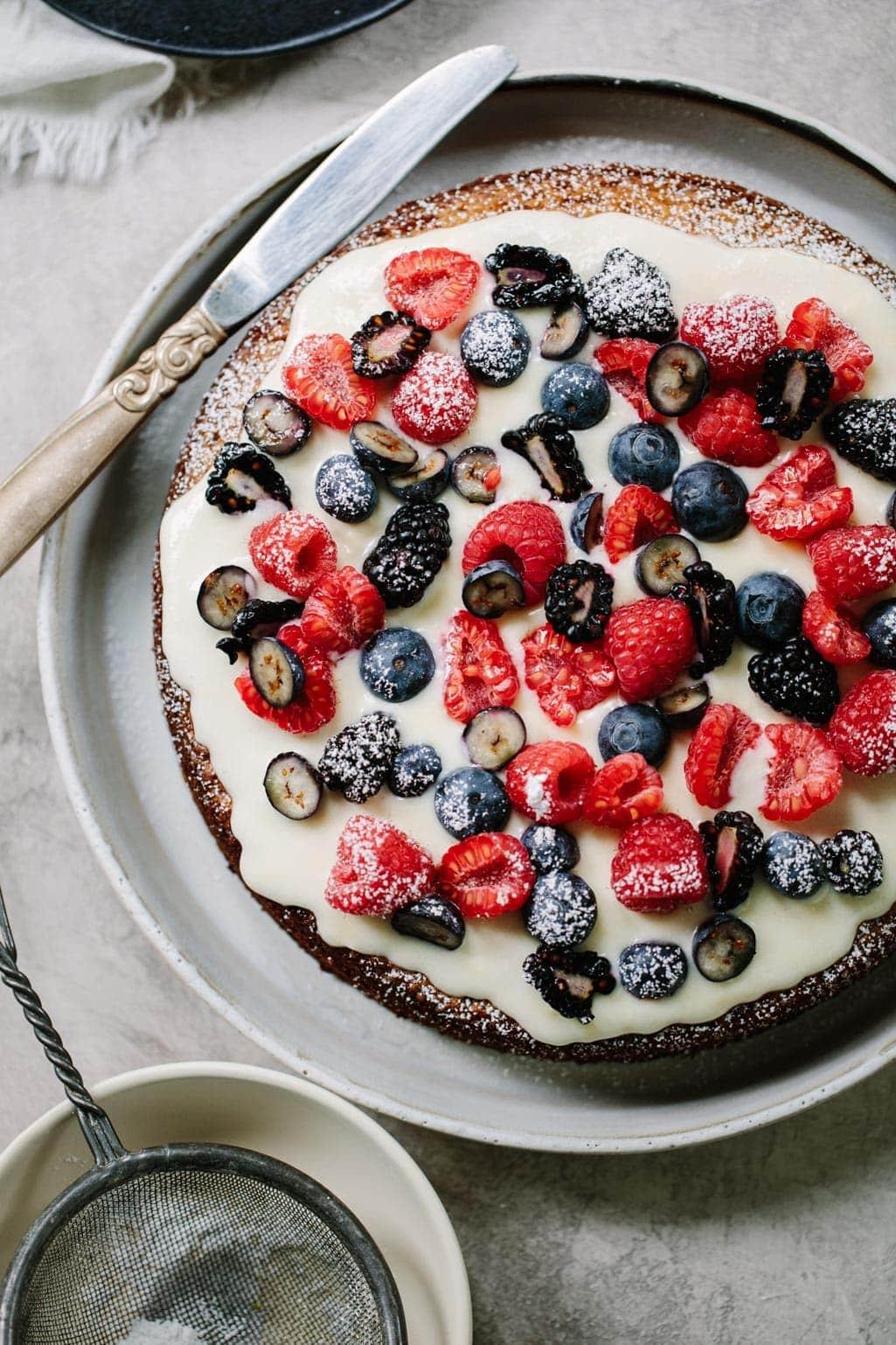 Easy Moist Almond Cake