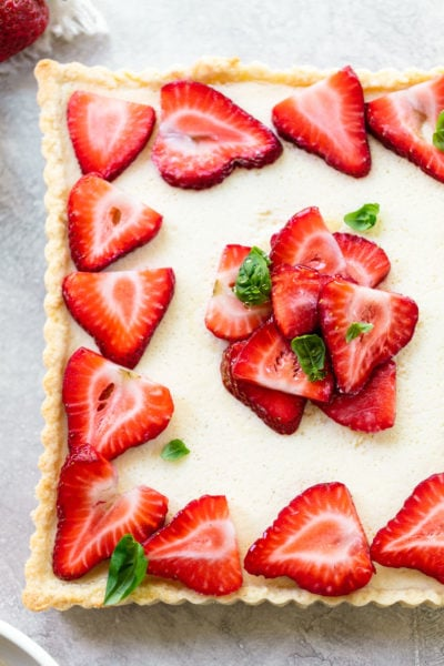 Strawberry Mascarpone Crostata