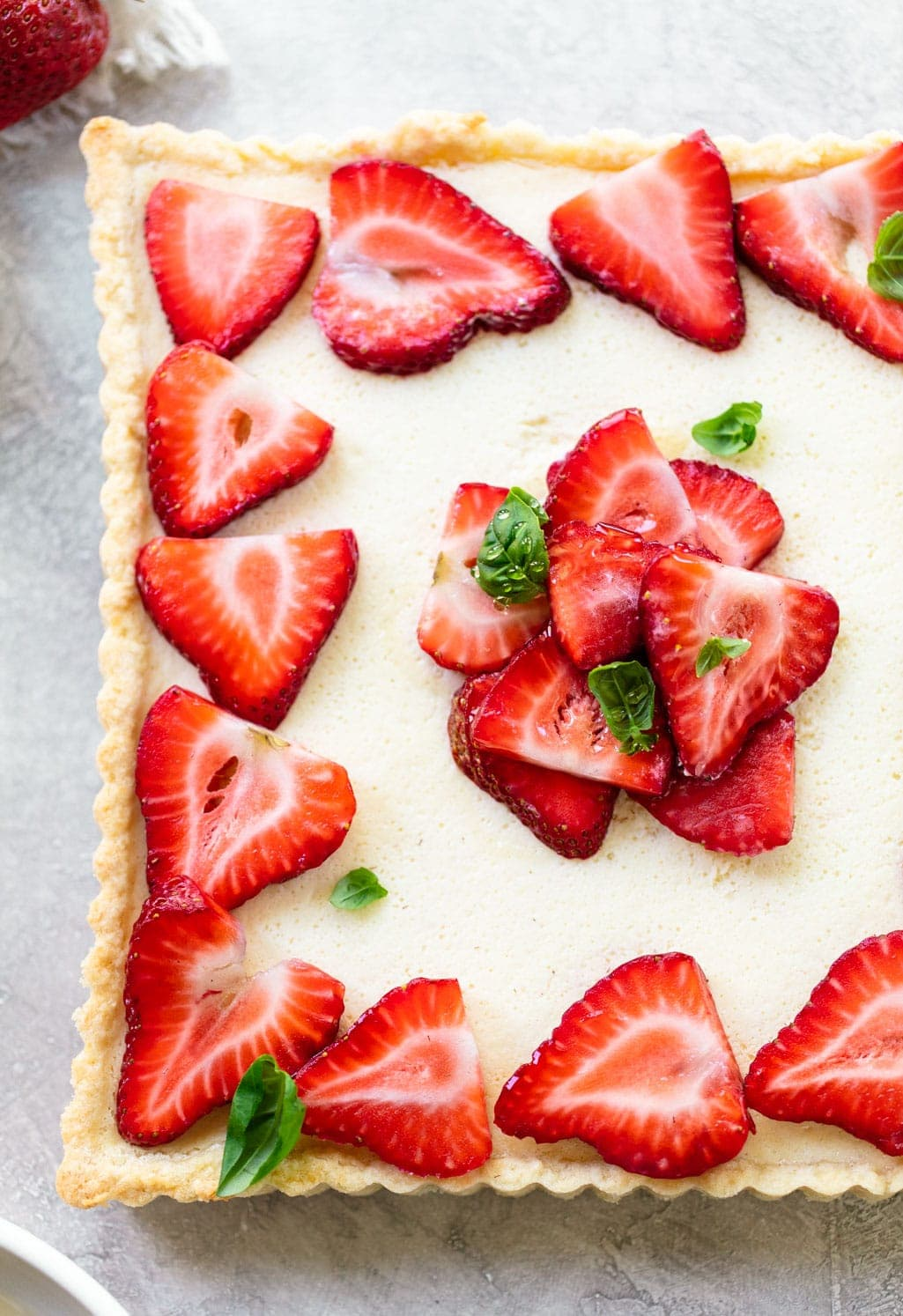 Italian Strawberry Mascarpone Tart