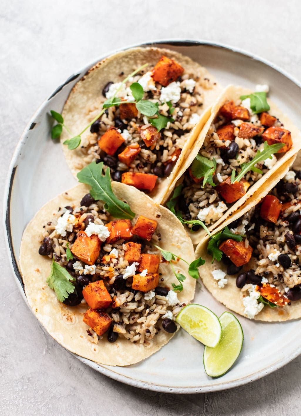 Chipotle Sweet Potato and Black Bean Tacos