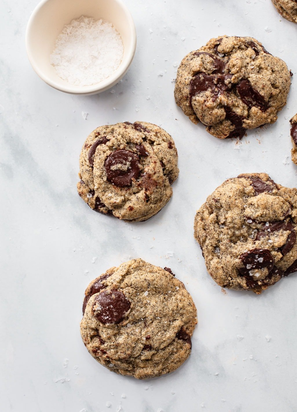 Salted Buckwheat Chocolate Chip Cookie Recipe