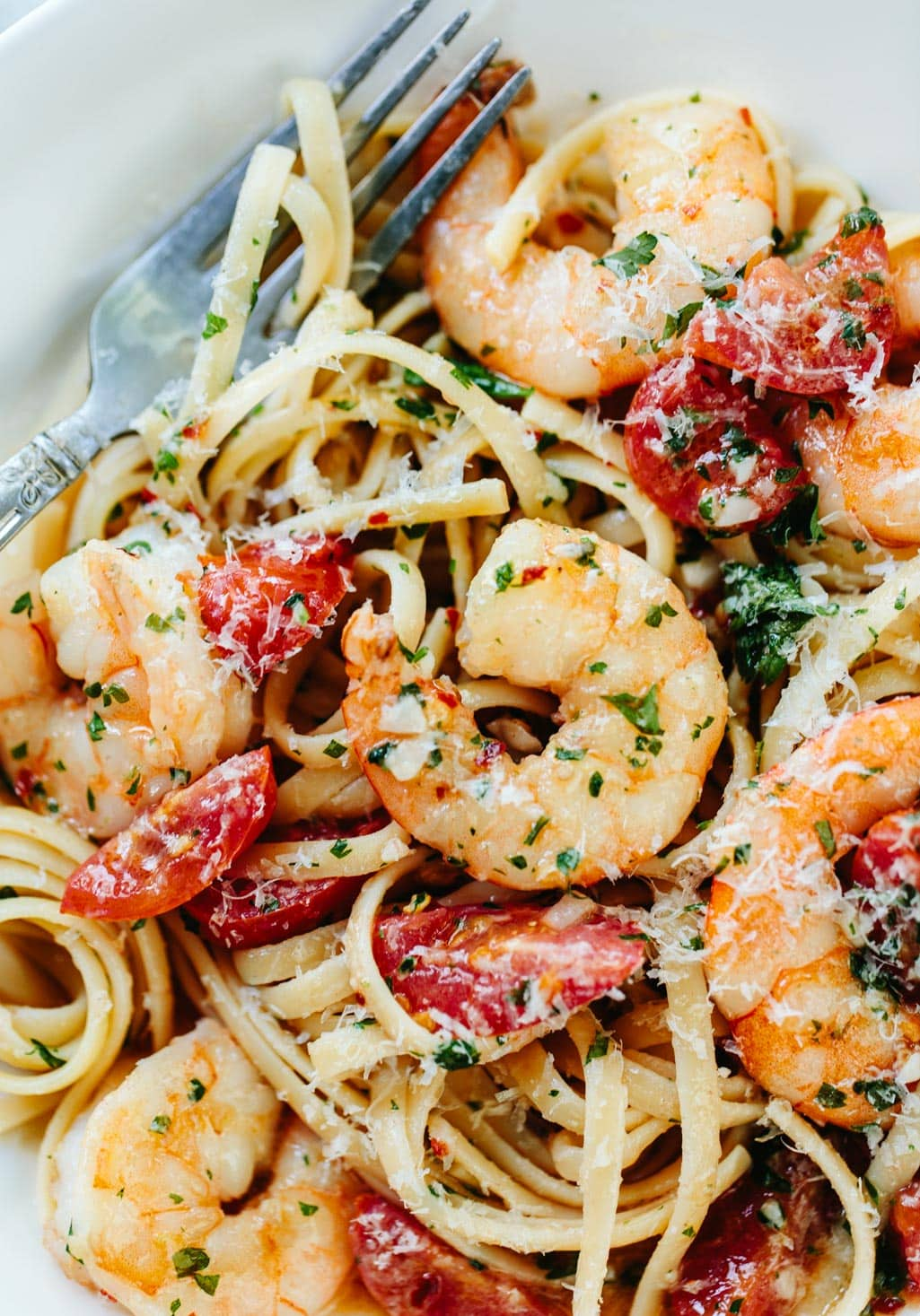 Shrimp Pasta with Garlic Butter Recipe