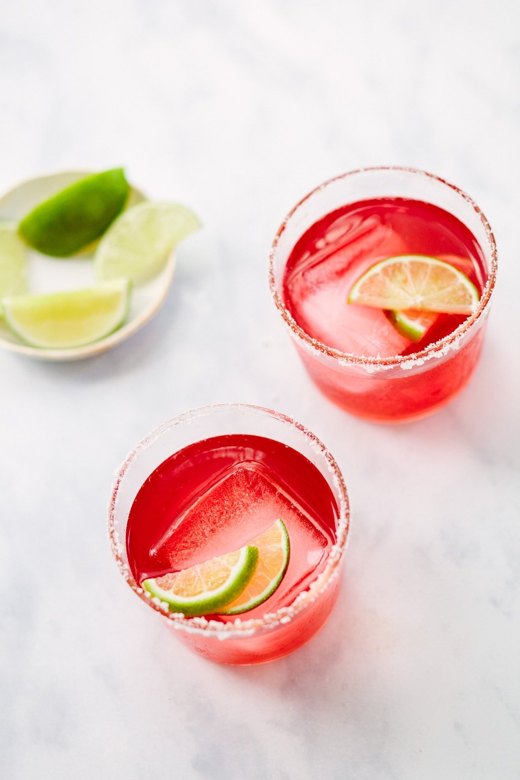 Hibiscus Mezcal Margarita