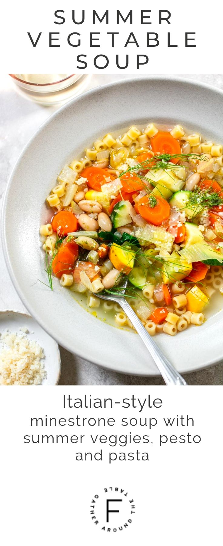 Summer Minestrone Soup