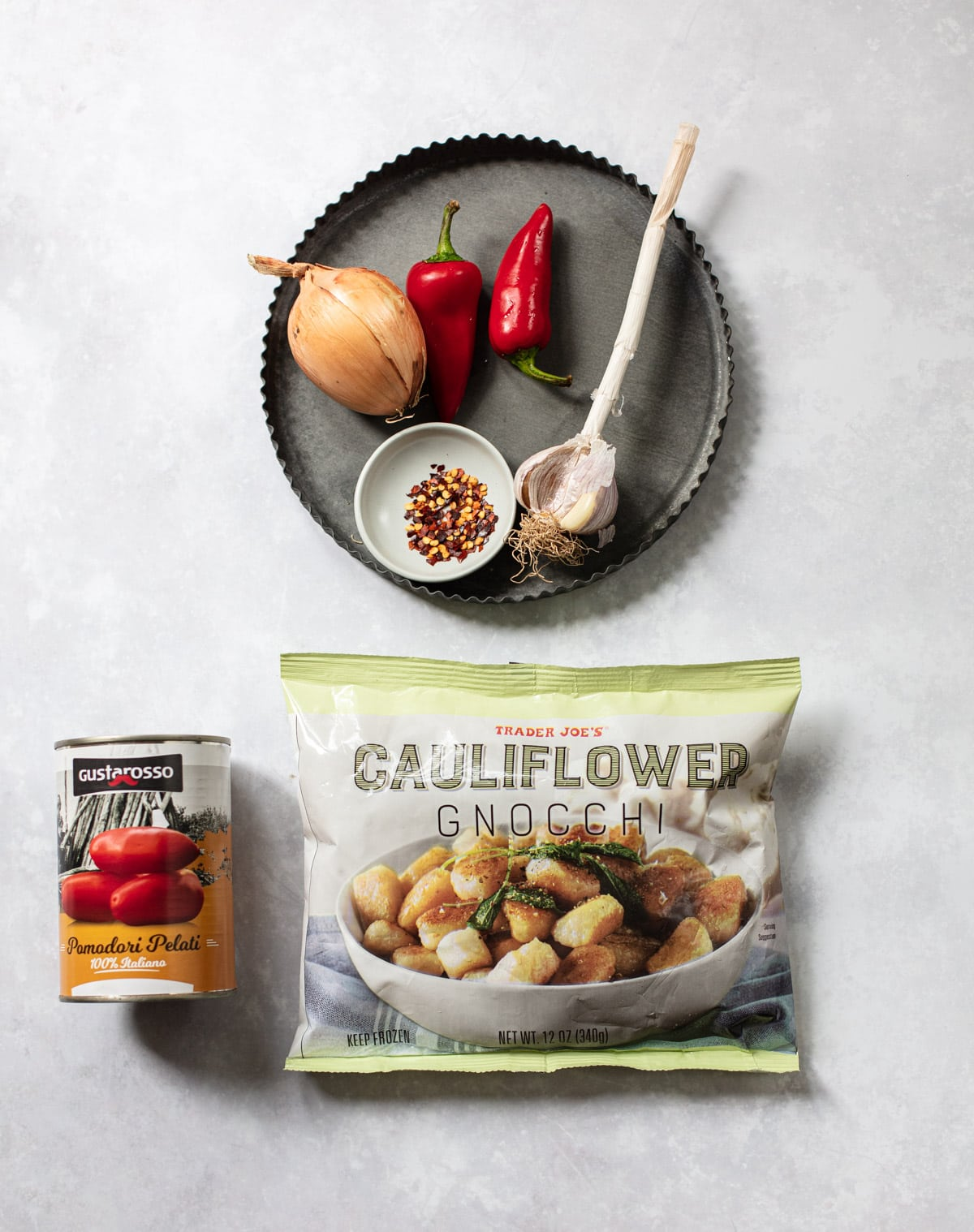 Trader Joe's Cauliflower Gnocchi Recipe Ingredients