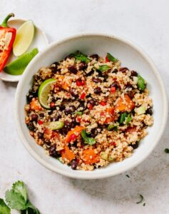 Quinoa Salad with Black Beans