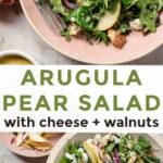Arugula Pear Salad Recipe