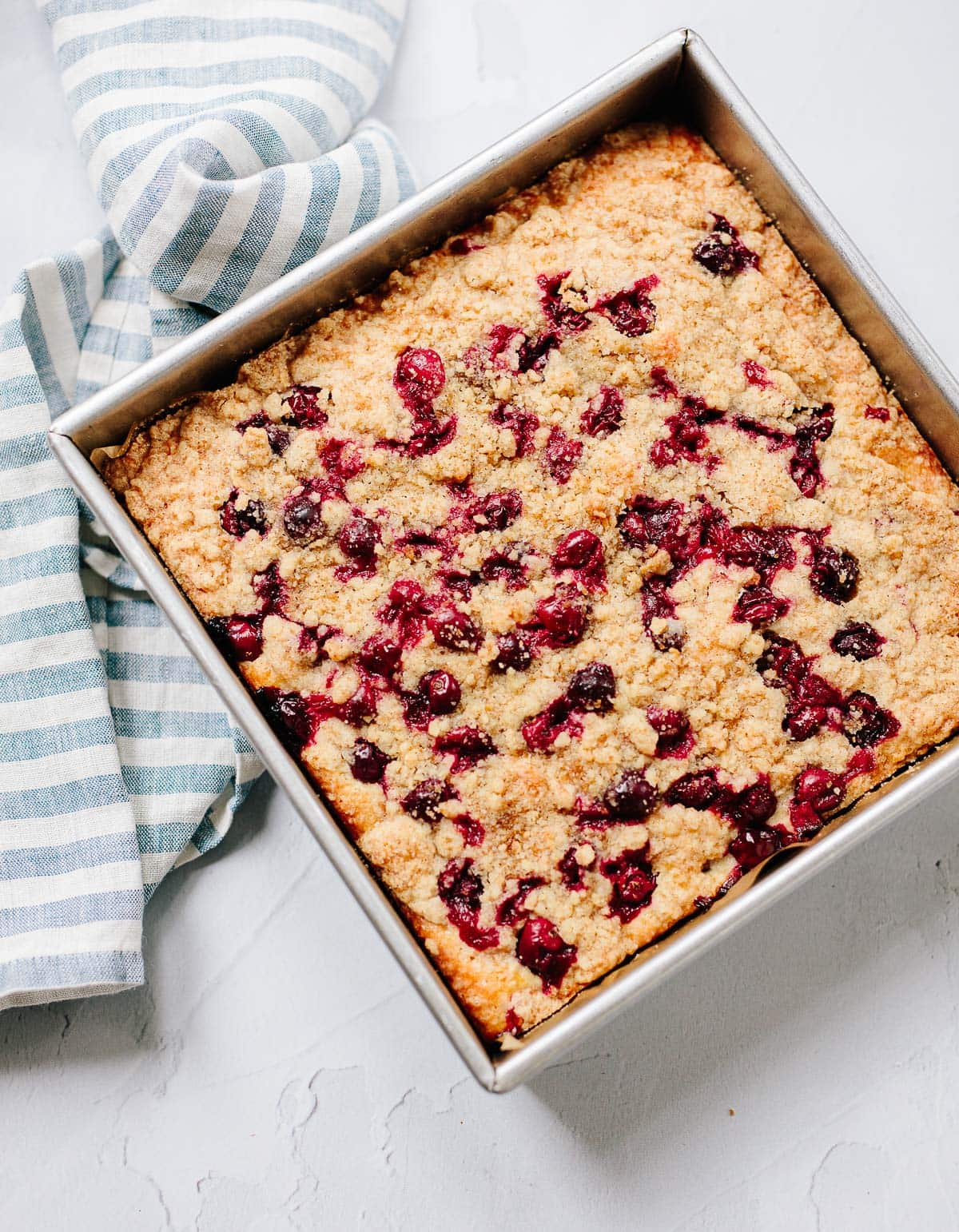 Cranberry Crumb Cake