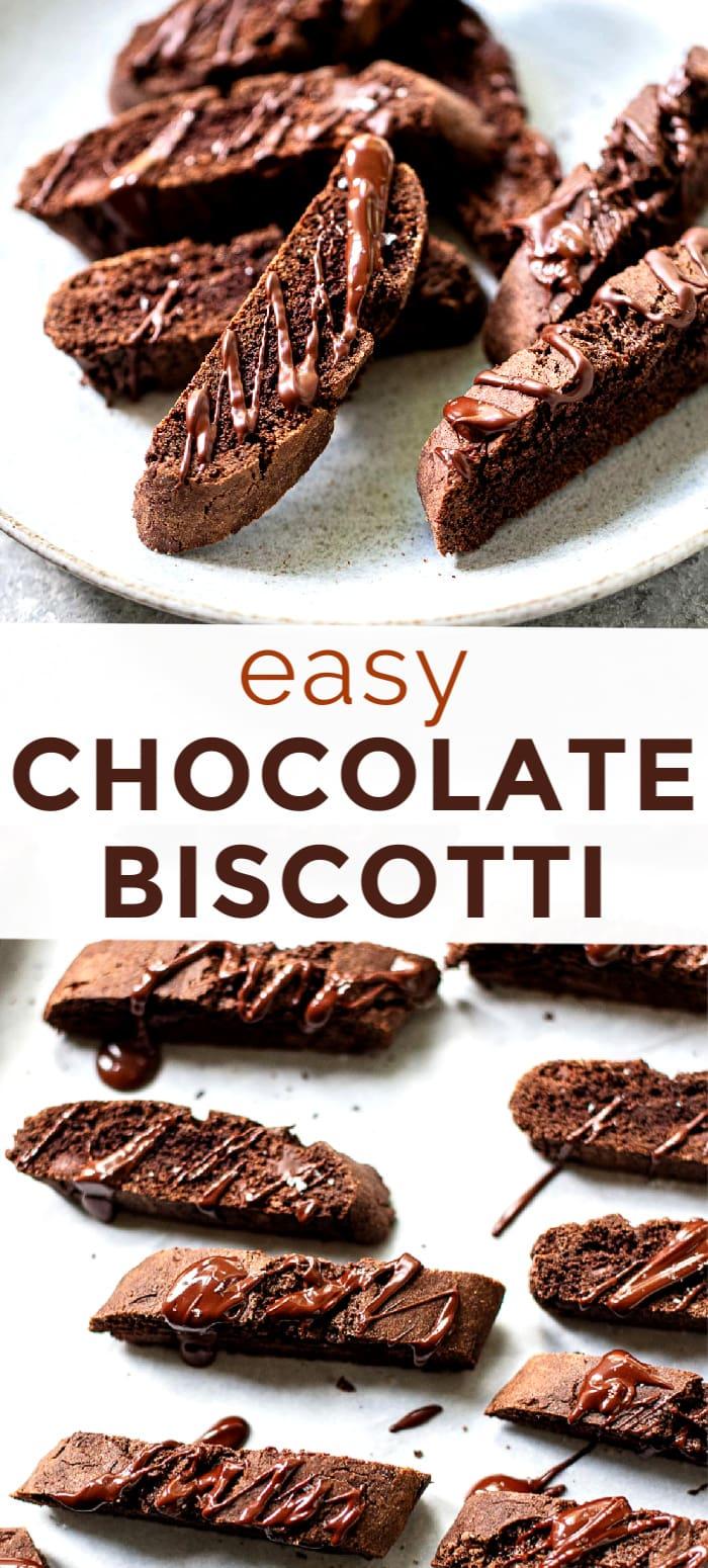 Double Chocolate Biscotti Recipe