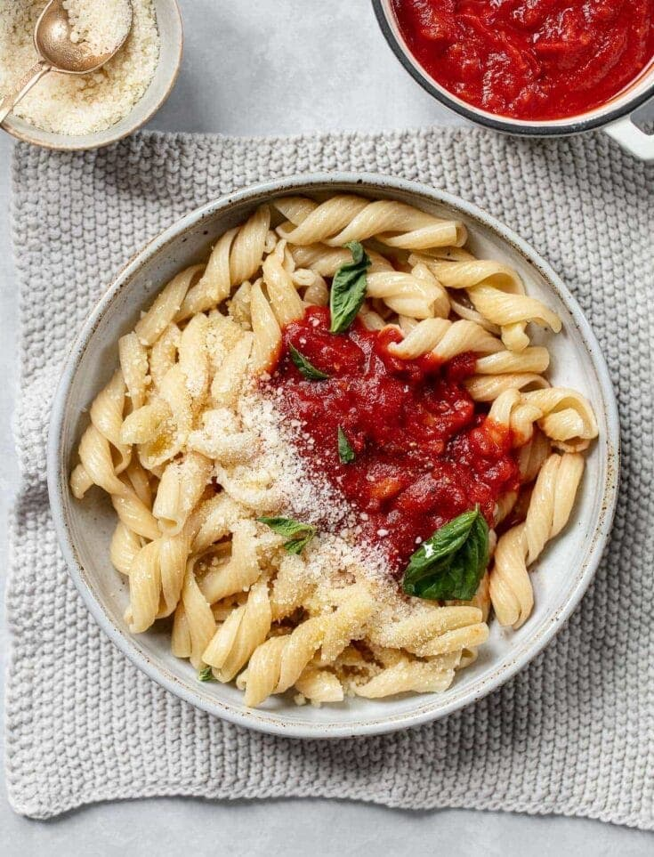 Pasta Pomodoro Recipe with Basil