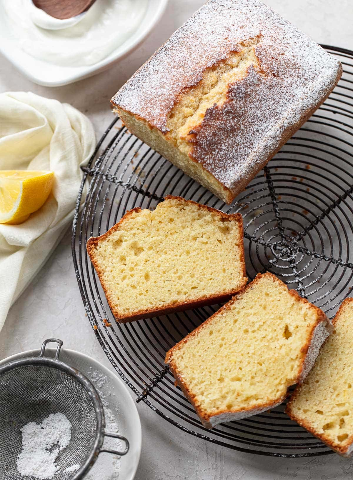 Classic French Lemon Yogurt Cake Recipe