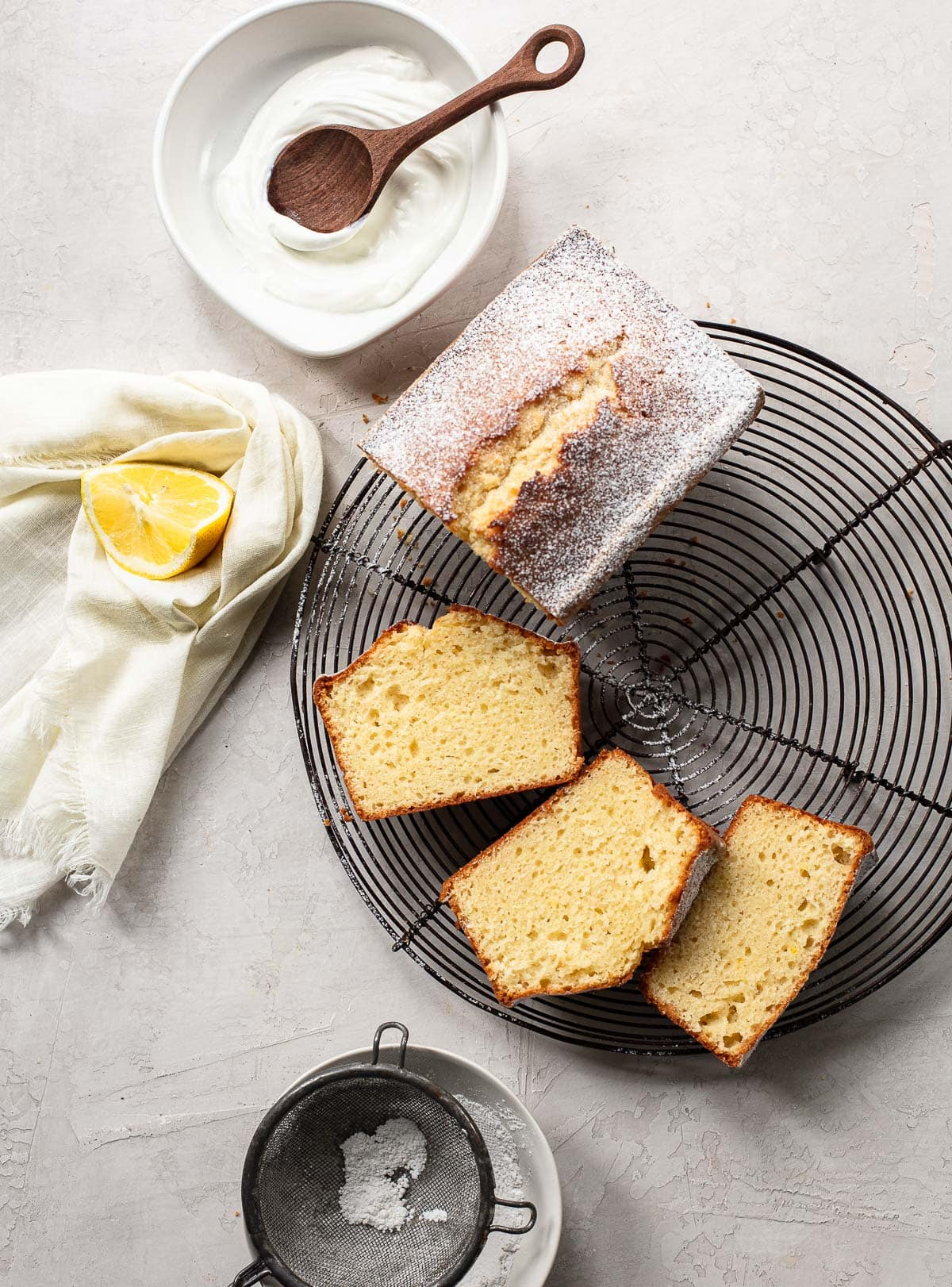 Classic French Lemon Yogurt Cake