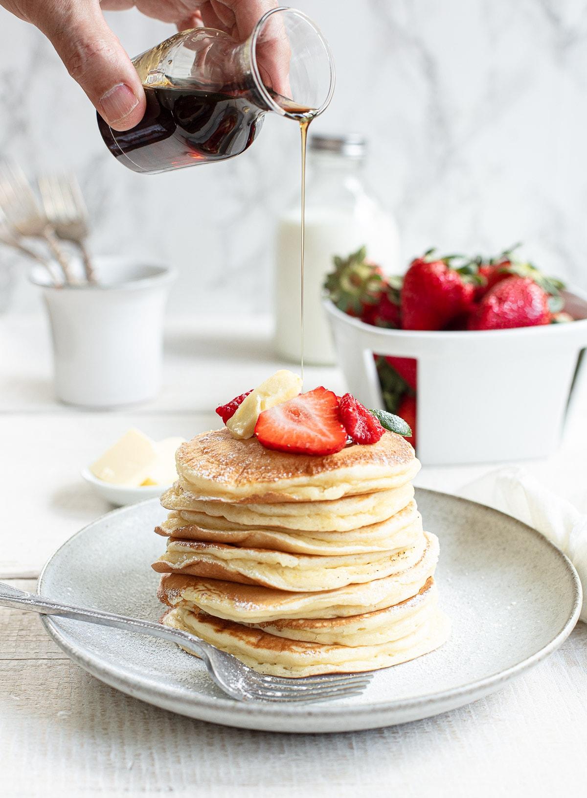 Best Ever Fluffy Buttermilk Pancakes