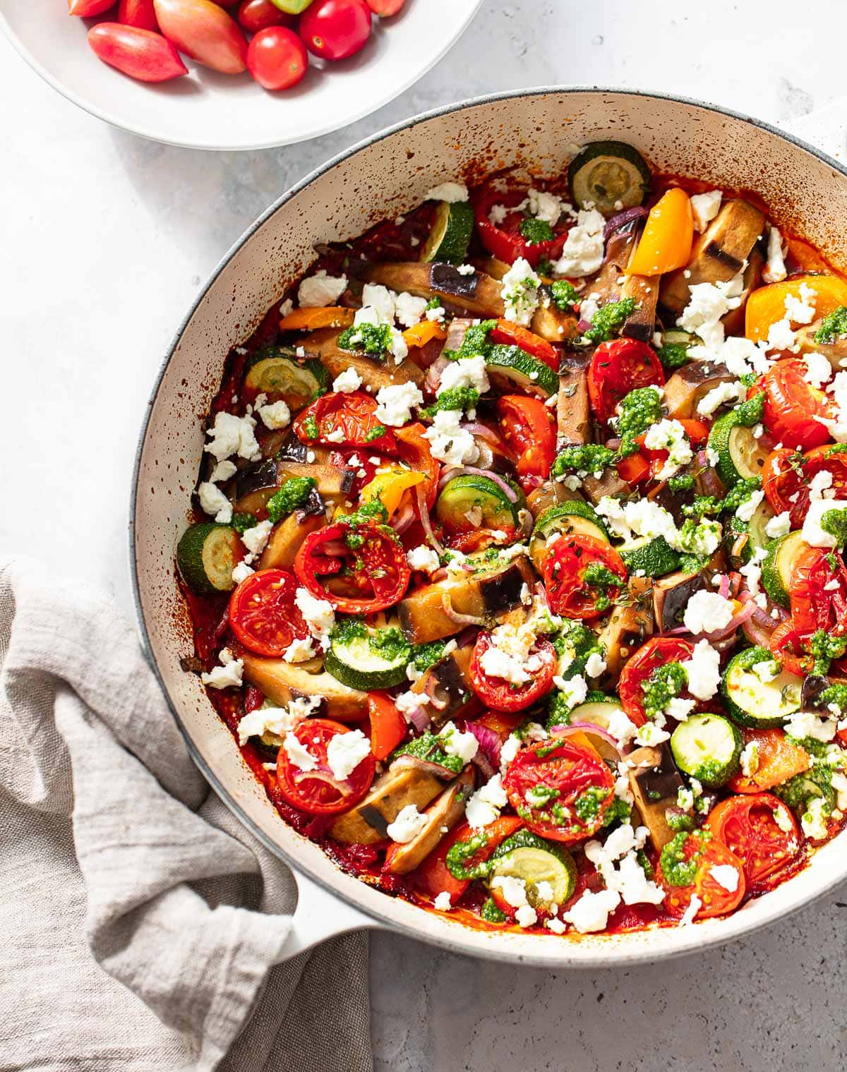 Easy Baked Ratatouille Recipe Familystyle Food